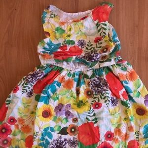 3t girl cheroke dress sunny